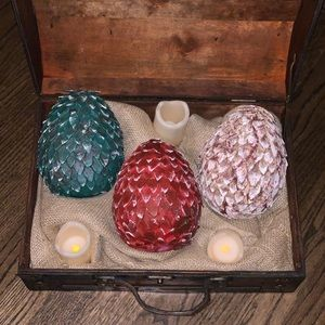 Handmade Game Of Thrones Dragon's Eggs